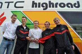 HTC team met trofee